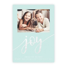4.5x6.25 Foil Photocard - Oh Joy Foil