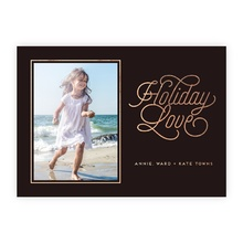 4.5x6.25 Foil Photocard - Holiday Love Foil
